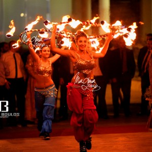 Magma-group-fire-arabic-entrance-wedding