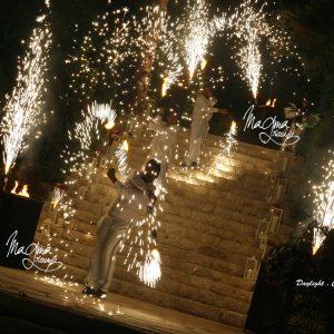 magma-group-wedding-volcano-bride-entrance