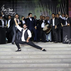 magma-group-dabke-groom-entrance